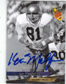 KEN MacAFEE NOTRE DAME FIGHTING IRISH AUTOGRAPHED FOOTBALL CARD #62615F