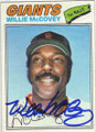 WILLIE McCOVEY SAN FRANCISCO GIANTS AUTOGRAPHED VINTAGE BASEBALL CARD #70115A