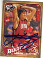 ANDREW BOGUT UNIVERSITY OF UTAH UTES AUTOGRAPHED ROOKIE BASKETBALL CARD #70315E