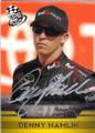 DENNY HAMLIN AUTOGRAPHED NASCAR CARD #70715L