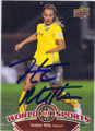 HEATHER MITTS UNITED STATES WOMENS SOCCER AUTOGRAPHED SOCCER CARD #70715N