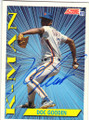 "DWIGHT ""DOC"" GOODEN NEW YORK METS AUTOGRAPHED BASERBALL CARD #70815i"