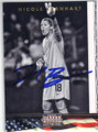 NICOLE BARNHART US WOMENS OLYMPIC SOCCER AUTOGRAPHED CARD #71215C
