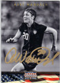 ABBY WAMBACH US WOMENS SOCCER AUTOGRAPHED CARD #71815D