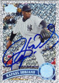 RAFAEL SORIANO NEW YORK YANKEES AUTOGRAPHED BASEBALL CARD #72015A