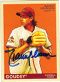 RANDY JOHNSON ARIZONA DIAMONDBACKS AUTOGRAPHED BASEBALL CARD #72915H