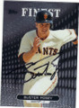 BUSTER POSEY SAN FRANCISCO GIANTS AUTOGRAPHED BASEBALL CARD #82015F