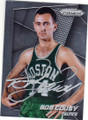BOB COUSY BOSTON CELTICS AUTOGRAPHED BASKETBALL CARD #82115G