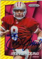 STEVE YOUNG SAN FRANCISCO 49ers AUTOGRAPHED FOOTBALL CARD #82115i