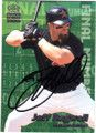 JEFF BAGWELL HOUSTON ASTROS AUTOGRAPHED BASEBALL CARD #82815C