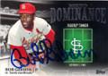 BOB GIBSON ST LOUIS CARDINALS AUTOGRAPHED BASEBALL CARD #82915A