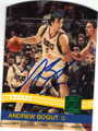 ANDREW BOGUT MILWAUKEE BUCKS AUTOGRAPHED BASKETBALL CARD #83115E
