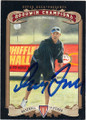 GREG MADDUX ATLANTA BRAVES AUTOGRAPHED BASEBALL CARD #83115i