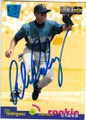ALEX RODRIGUEZ SEATTLE MARINERS AUTOGRAPHED ROOKIE BASEBALL CARD #83115J