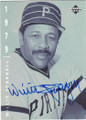 WILLIE STARGELL PITTSBURGH PIRATES AUTOGRAPHED BASEBALL CARD #91115B