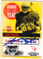 ANDRE ELLINGTON ARIZONA CARDINALS AUTOGRAPHED ROOKIE FOOTBALL CARD #91215A