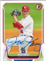 JOE KELLY ST LOUIS CARDINALS AUTOGRAPHED BASEBALL CARD #91215D