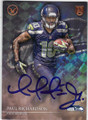 PAUL RICHARDSON SEATTLE SEAHAWKS AUTOGRAPHED ROOKIE FOOTBALL CARD #100515D