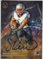 SHANE VEREEN NEW ENGLAND PATRIOTS AUTOGRAPHED FOOTBALL CARD #100715C