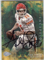 ALEX SMITH KANSAS CITY CHIEFS AUTOGRAPHED FOOTBALL CARD #100815D