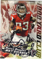 HARRY DOUGLAS ATLANTA FALCONS AUTOGRAPHED FOOTBALL CARD #101415G