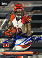 AJ GREEN CINCINNATI BENGALS AUTOGRAPHED FOOTBALL CARD #101515F