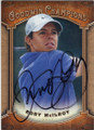 RORY McILROY AUTOGRAPHED GOLF CARD #111415C
