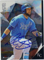 ALEX GORDON KANSAS CITY ROYALS AUTOGRAPHED BASEBALL CARD #111715D