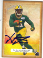 HA HA CLINTON-DIX GREEN BAY PACKERS AUTOGRAPHED ROOKIE FOOTBALL CARD #111715G