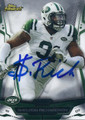 SHELDON ROCHARDSON NEW YORK JETS DEFENSIVE TACKLE AUTOGRAPHED FOOTBALL CARD #112315A
