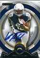 KEENAN ALLEN SAN DIEGO CHARGERS AUTOGRAPHED ROOKIE FOOTBALL CARD #120115E