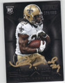 KHIRY ROBINSON NEW ORLEANS SAINTS AUTOGRAPHED & NUMBERED ROOKIE FOOTBALL CARD #120315D