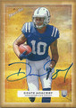 DONTE MONCRIEF INDIANAPOLIS COLTS AUTOGRAPHED ROOKIE FOOTBALL CARD #120415i