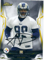 AARON DONALD PITTSBURGH STEELERS AUTOGRAPHED ROOKIE FOOTBALL CARD #120515A