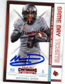 MICHAEL DYER UNIVERSITY OF LOUISVILLE AUTOGRAPHED ROOKIE FOOTBALL CARD #120715B