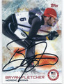 BRYAN FLETCHER AUTOGRAPHED OLYMPIC NORDIC SKIING CARD #120815J