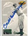 """COWAN """"BUBBER"""" HYDE AUTOGRAPHED BASEBALL CARD #120915D"""