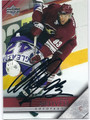 PETR NEDVED PHOENIX COYOTES AUTOGRAPHED HOCKEY CARD #121015A