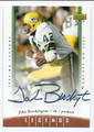 JOHN BROCKINGTON GREEN BAY PACKERS AUTOGRAPHED FOOTBALL CARD #121815A