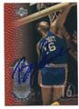 BOB LANIER DETROIT PISTONS AUTOGRAPHED BASKETBALL CARD #122115J