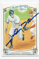 JOHNNY DAMON NEW YORK YANKEES AUTOGRAPHED BASEBALL CARD #122615C