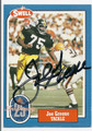 JOE GREENE PITTSBURGH STEELERS AUTOGRAPHED VINTAGE FOOTBALL CARD #122615G