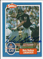DICK BUTKUS CHICAGO BEARS AUTOGRAPHED VINTAGE FOOTBALL CARD #123015F