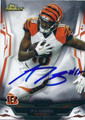 AJ GREEN CINCINNATI BENGALS AUTOGRAPHED FOOTBALL CARD #10316D
