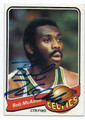 BOB McADOO BOSTON CELTICS AUTOGRAPHED VINTAGE BASKETBALL CARD #10516F