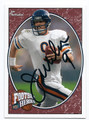 JIM McMAHON CHICAGO BEARS AUTOGRAPHED FOOTBALL CARD #10616H