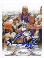 KARL MALONE UTAH JAZZ AUTOGRAPHED BASKETBALL CARD #10616K