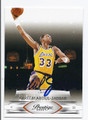 KAREEM ABDUL-JABBAR LOS ANGELES LAKERS AUTOGRAPHED BASKETBALL CARD #10816F