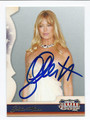 GOLDIE HAWN AUTOGRAPHED CARD #10816G