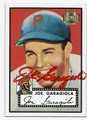 JOE GARAGIOLA PITTSBURGH PIRATES AUTOGRAPHED BASEBALL CARD #10816L